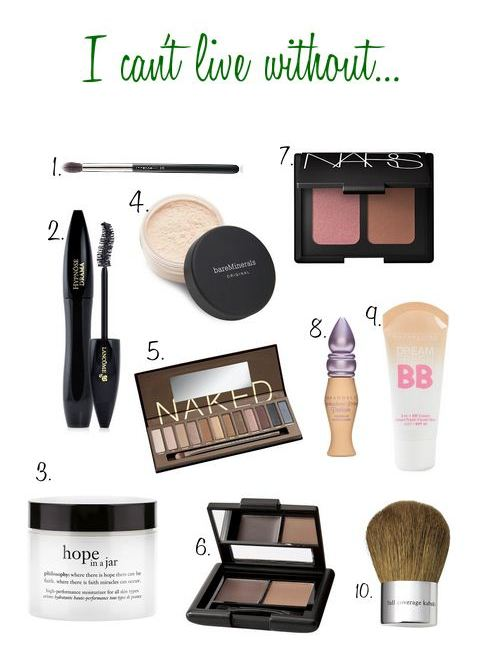 the makeup ladys must haves - Makeup Must Haves