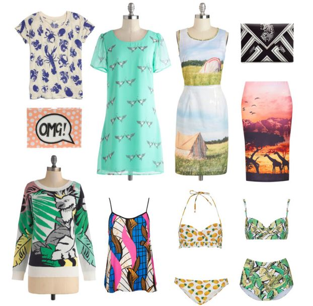 How to Wear Graphic Prints