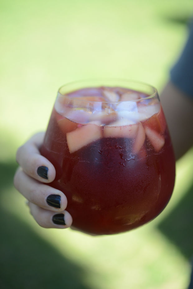 Rosé Sangria | Cupcakes and Cashmere | Sangria Recipes