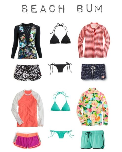 How She'd Wear It - surfer style coverups2