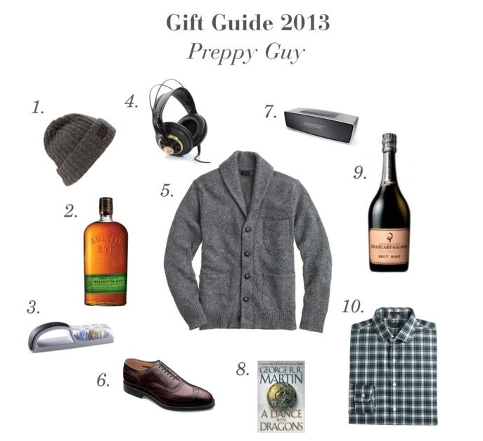 Gift Guide 2013 Preppy Guy | Style and Cheek