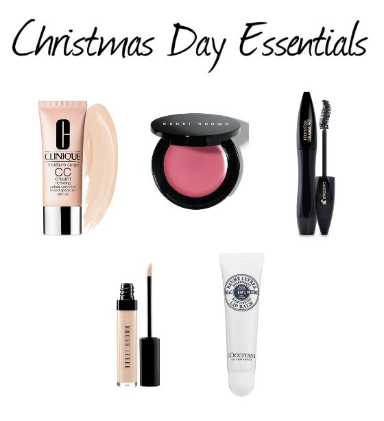 Christmas Day Makeup Essentials | The Makeup Lady