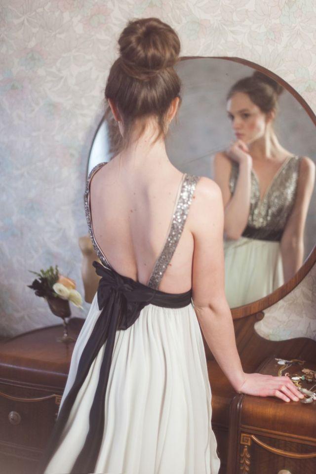 world premiere: glittering gowns from truvelle | Burnett's Boards | Pinterest Picks - Sequins, Gold, Glitter