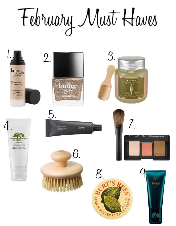 The Makeup Lady - February Beauty Must Haves