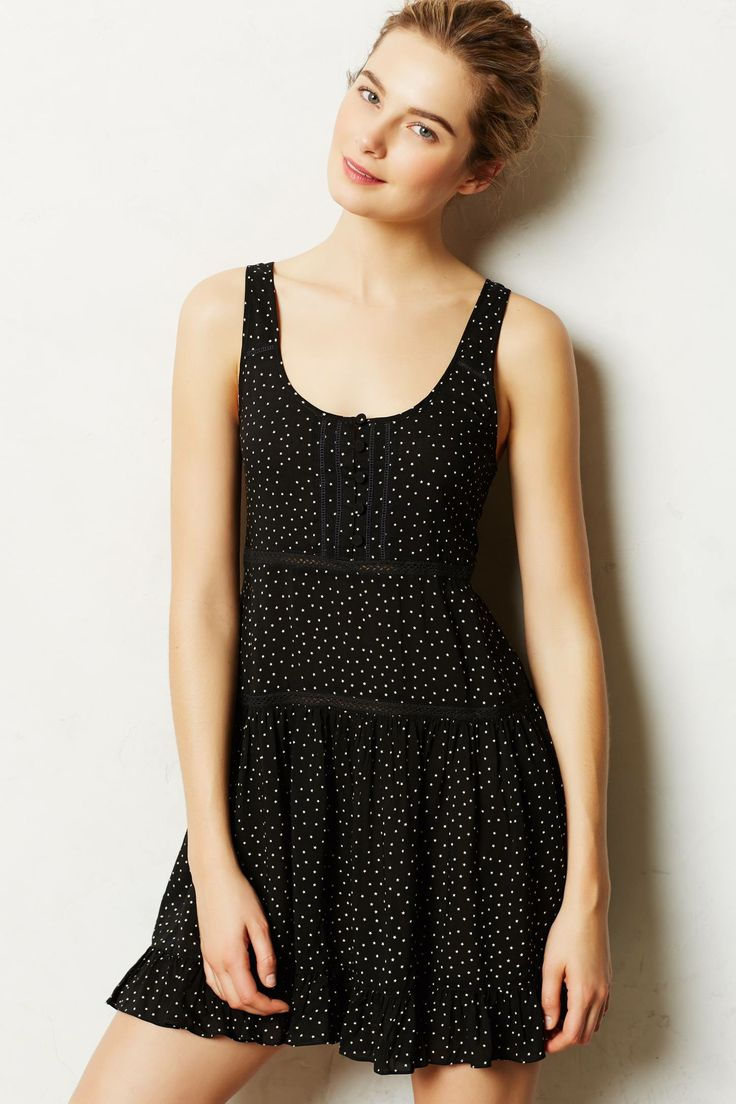 Anthropologie Starswing Chemise | Fancy Friday - The Cost of Comfort - Cute Loungewear
