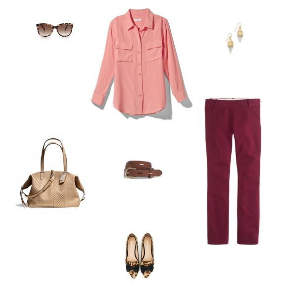 How She'd Wear It with Style and Cheek - Pink Business Casual