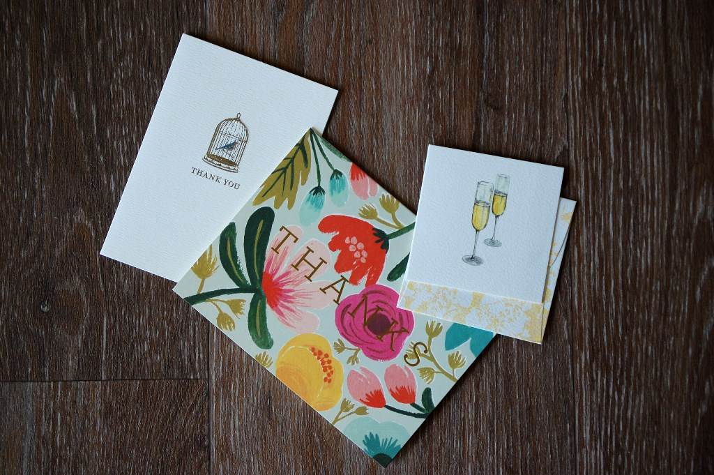 Thank You Notes | Style and Cheek