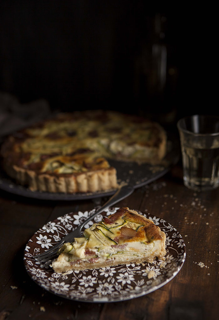 Bacon and Zucchini Quiche | Drizzle and Dip | Pinterest Picks - Picnic Recipes