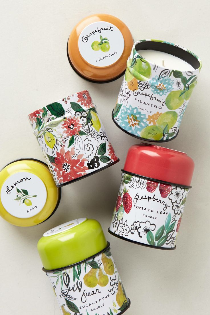 Just Picked Candle Tin from Anthropologie | Pinterest Picks - Mother's Day Gift Ideas