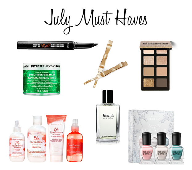 july must haves 2014