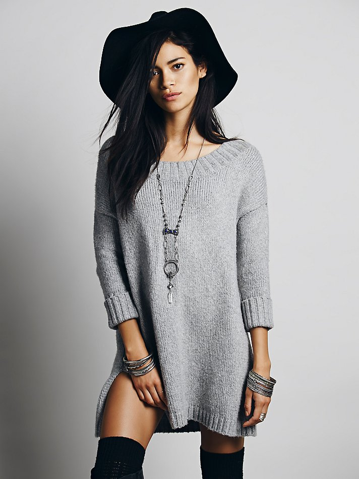 Модные Вязанные Туники
