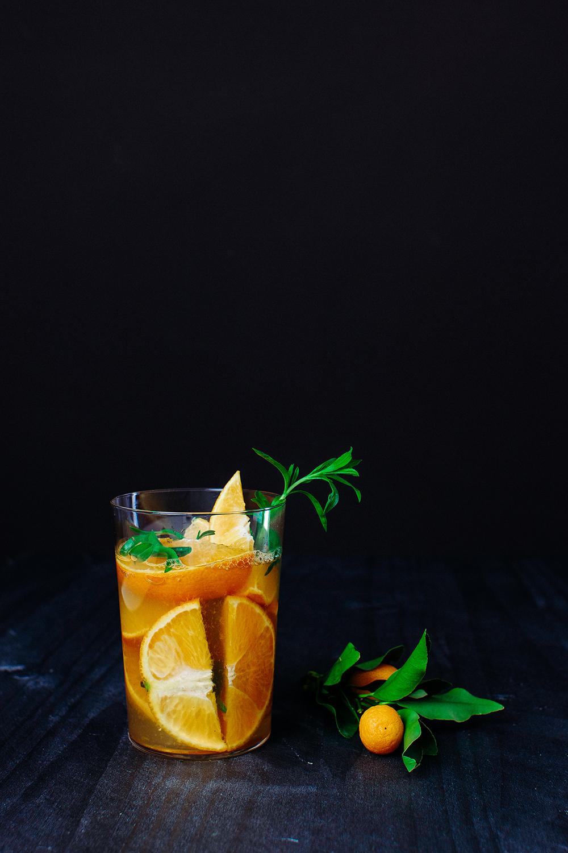 Tarragon Inflused Iced Tea | Eating Reverently | Pinterest Picks - Flavored Iced Tea Recipes