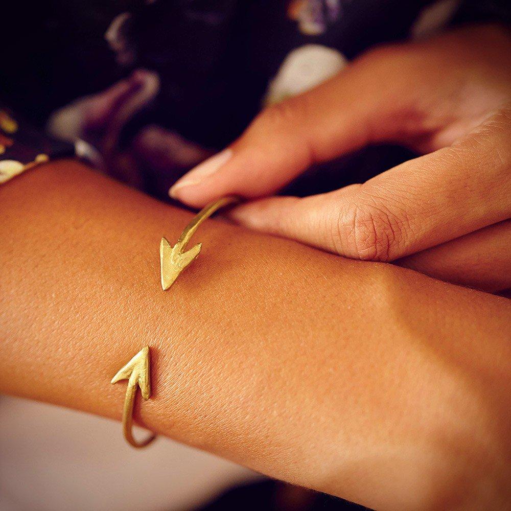 Arrow Cuff Bracelet by Jessica De Carlo from Preserve - Blake Lively's Preserve