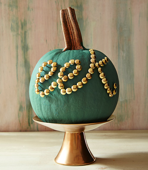 Country Living Pumpkin Thumbtack Message