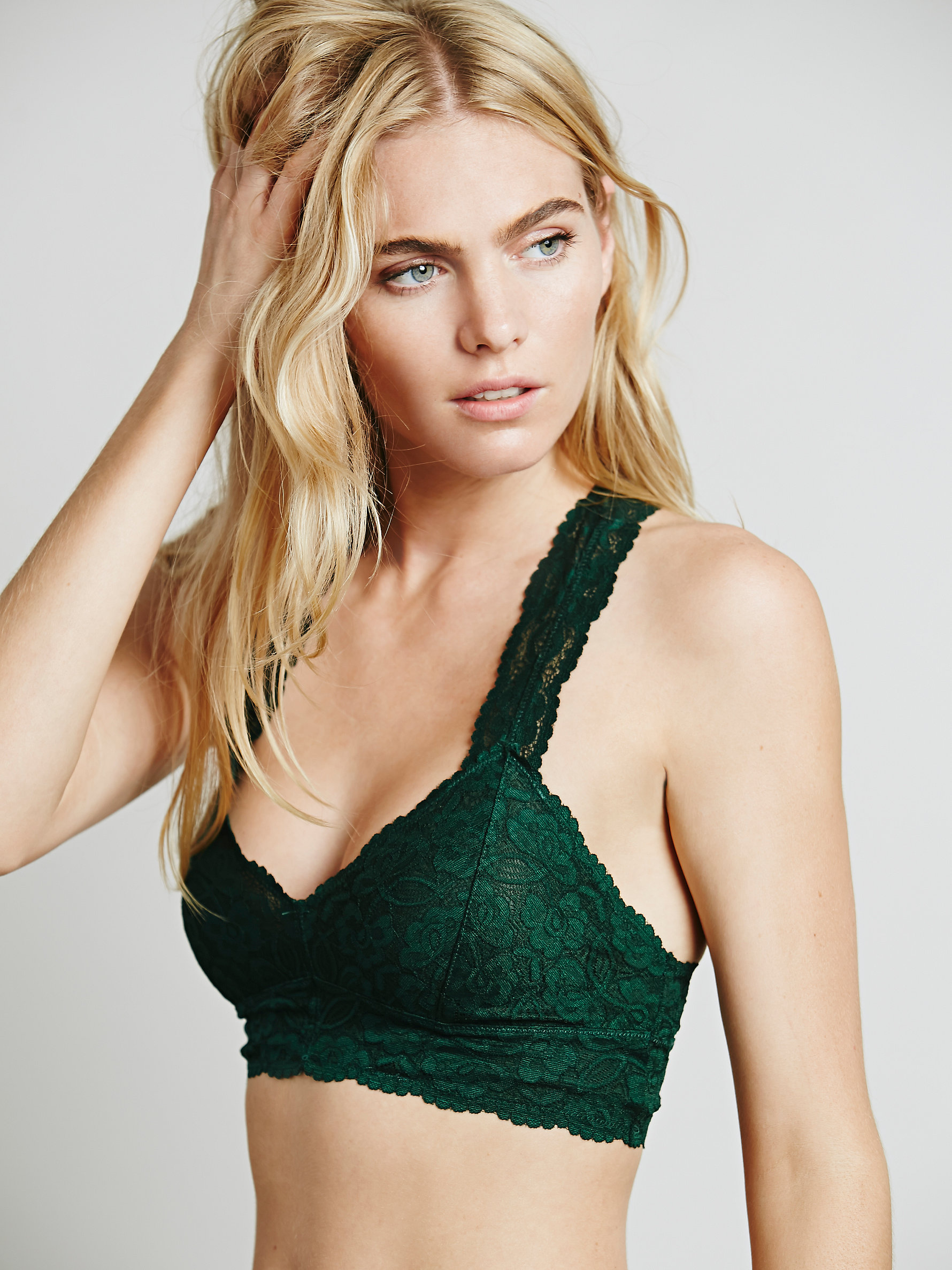 Free People Galloon Lace Racerback | Comfortable Bras to Wear When a Sports Bra Won't Do
