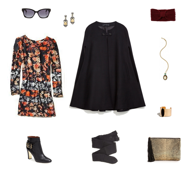 How She'd Wear It with Style and Cheek - Boho Cape Trend