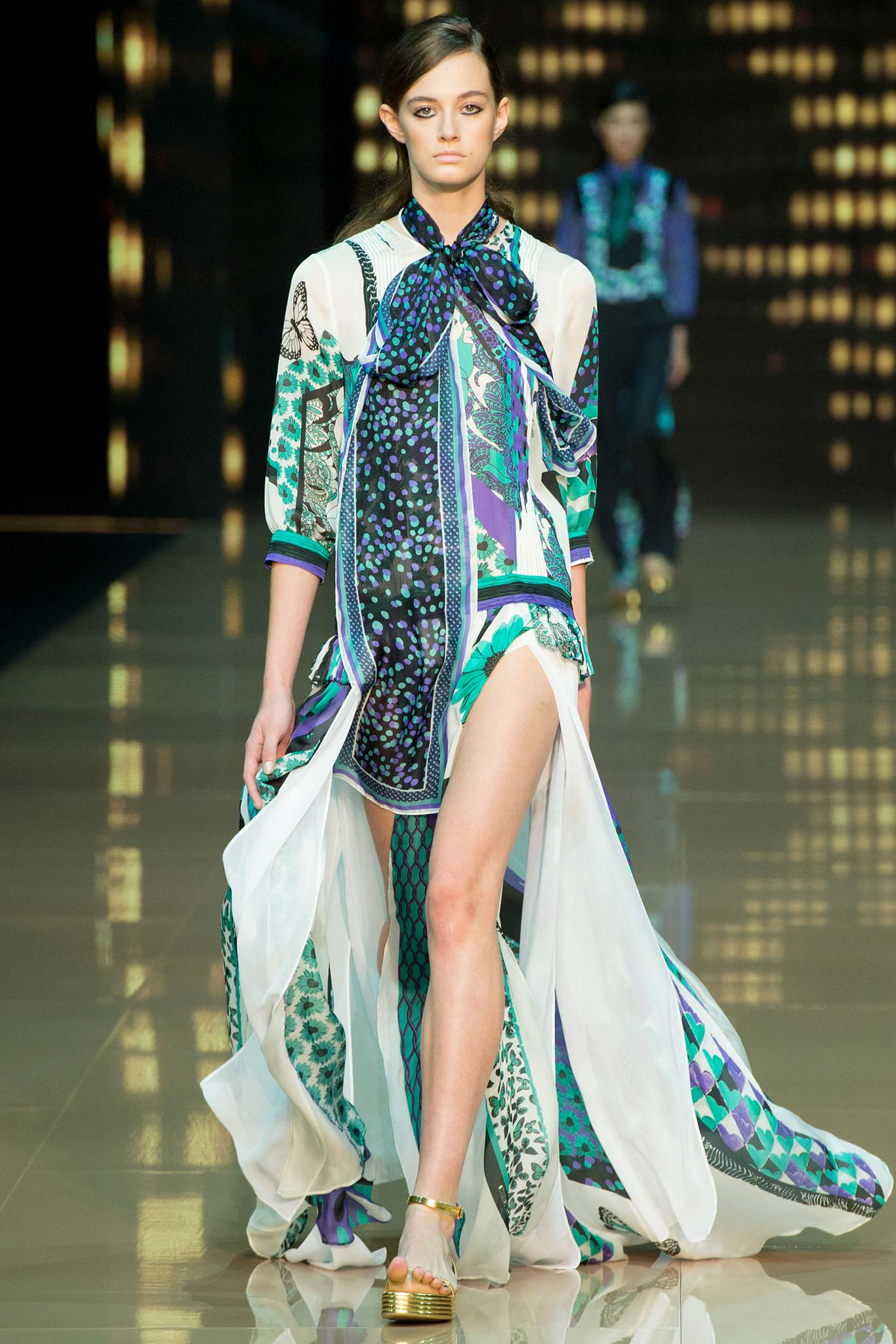 Just Cavalli Spring 2015 RTW Milan Look 1 | Favorite Spring 2015 RTW Runway Looks Part 2
