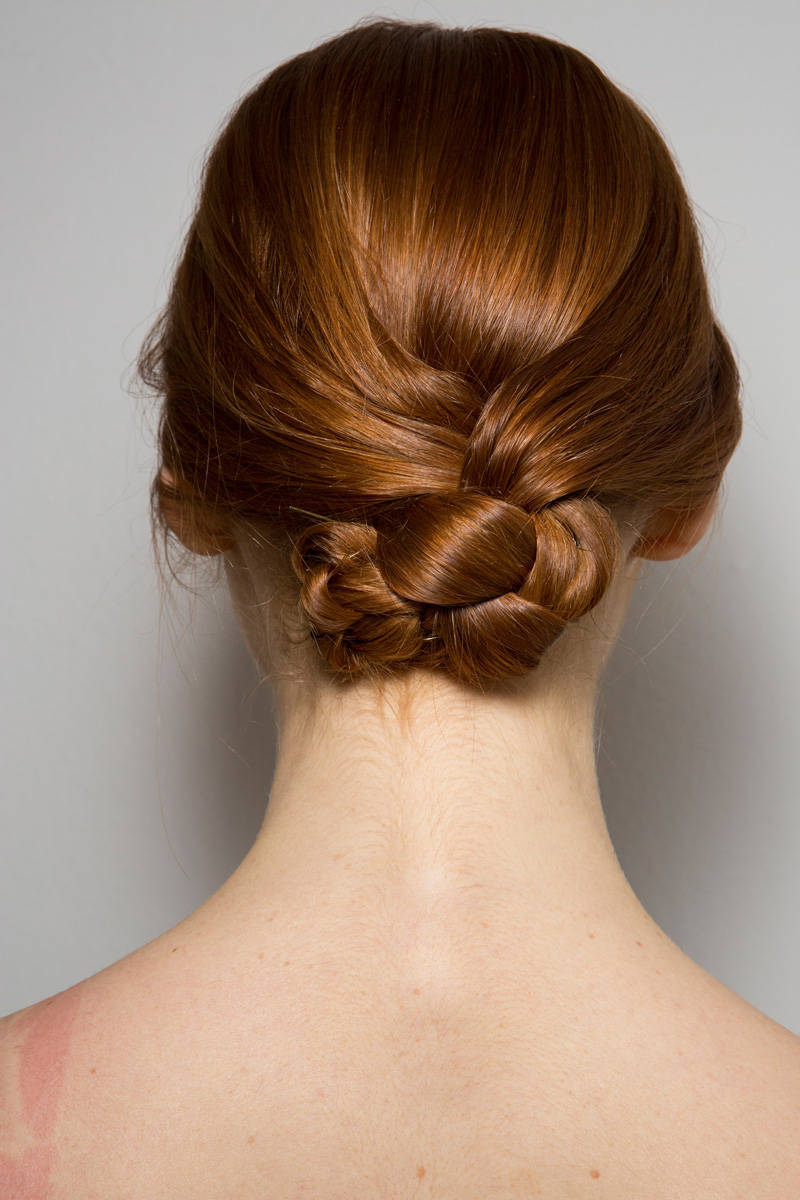 Laura Biagiotti Fall 2014 Ready-to-Wear Beauty | Pinterest Picks - Fall 2014 Runway Hairstyle Inspiration