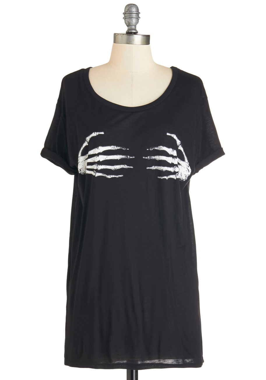 ModCloth I Can Digit! Tee | Spooky Style - The Black and White Edition