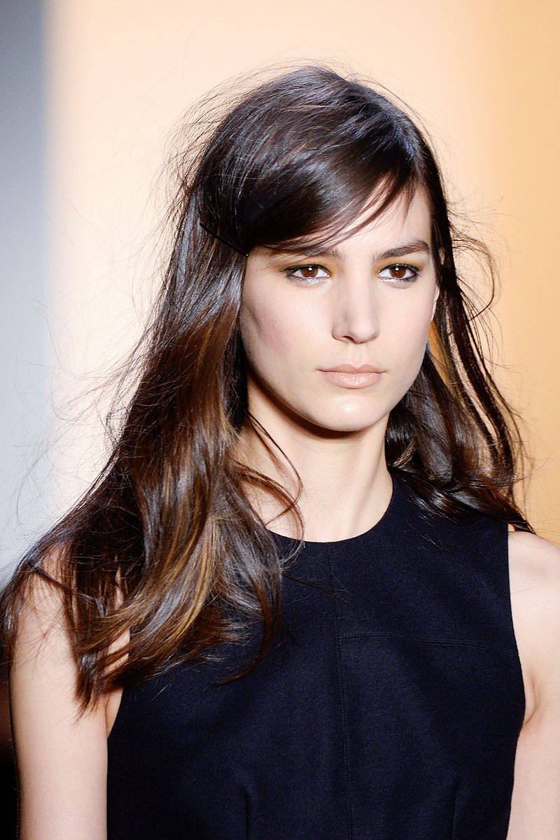 Peter Som Fall 2014 Ready-to-Wear Beauty | Pinterest Picks - Fall 2014 Runway Hairstyle Inspiration