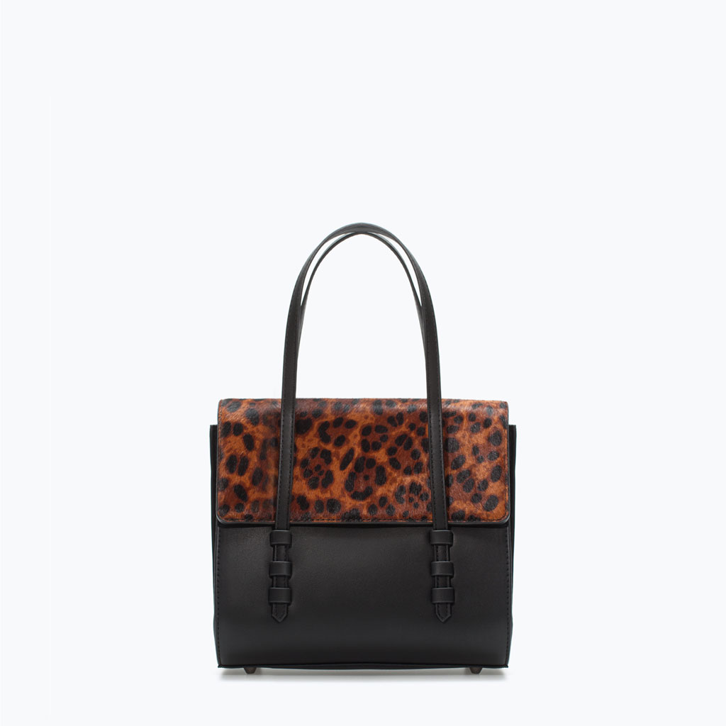 Zara Leopard Print Mini City Bag | Leopard Print Fall 2014