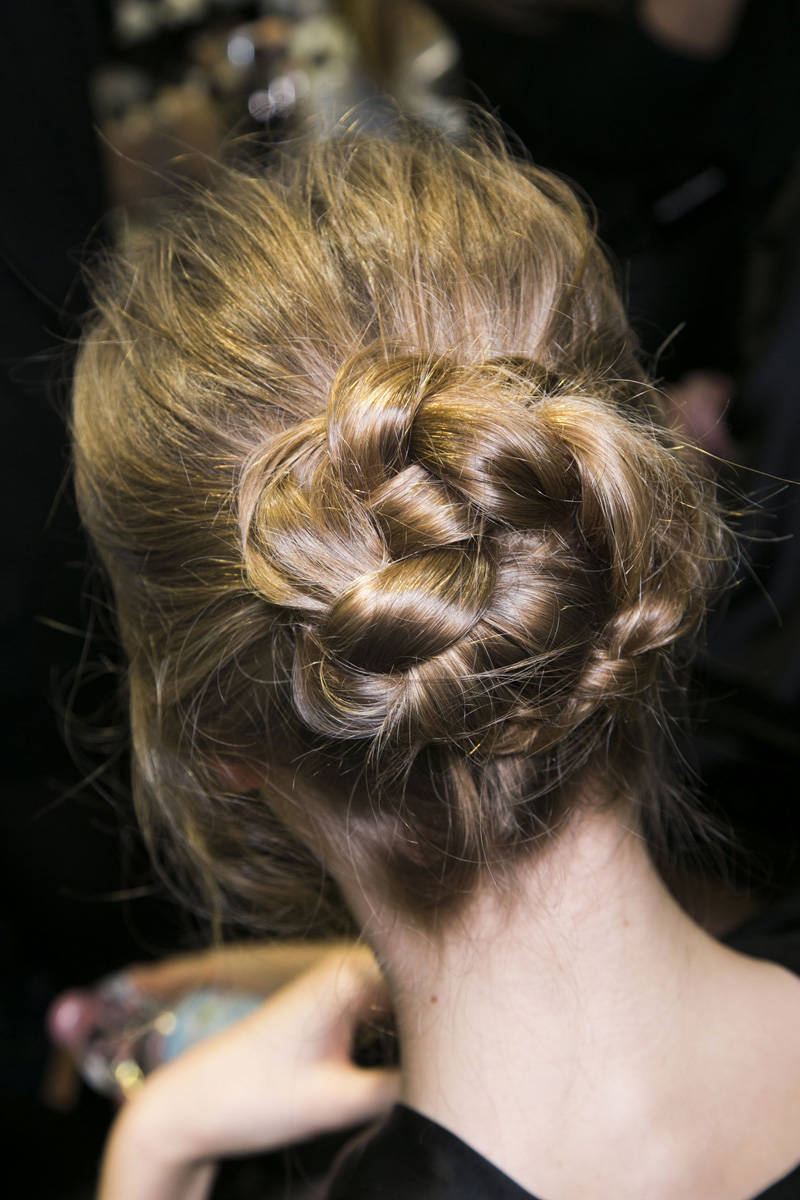 Dolce & Gabbana Fall 2014 Ready-to-Wear Beauty | Pinterest Picks - Fall 2014 Runway Hairstyle Inspiration