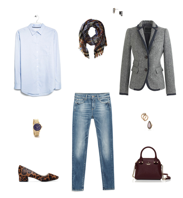How She'd Wear It with Style and Cheek - Casual Menswear Wool Blazers