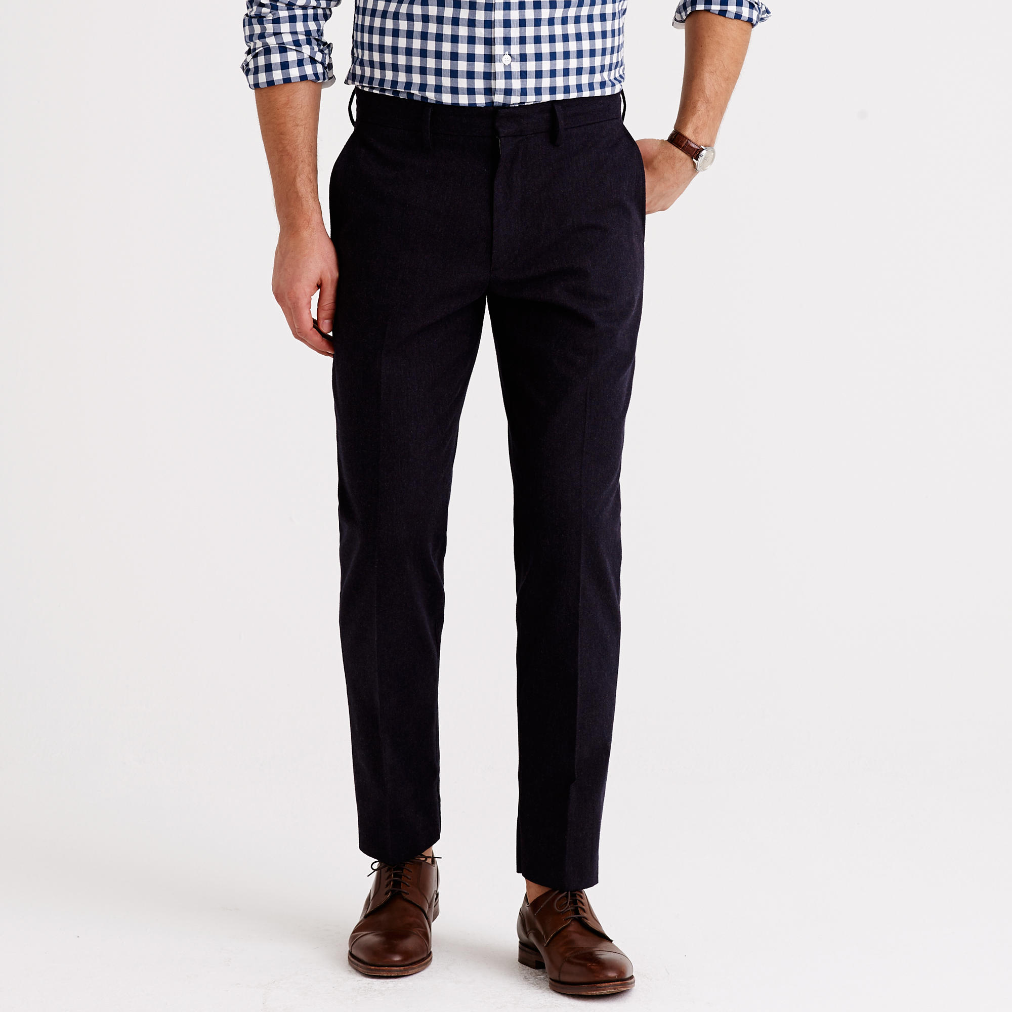 J.Crew Bowery Classic in Brushed Herringbone Cotton | 10 Fall Wardrobe Essentials for Men