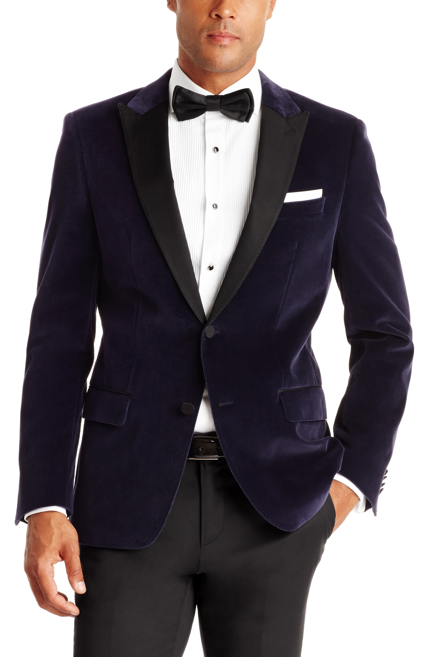 Hugo Boss 'Hayford' | Slim Fit, Velvet Sport Coat by BOSS | Hugo Boss Suits
