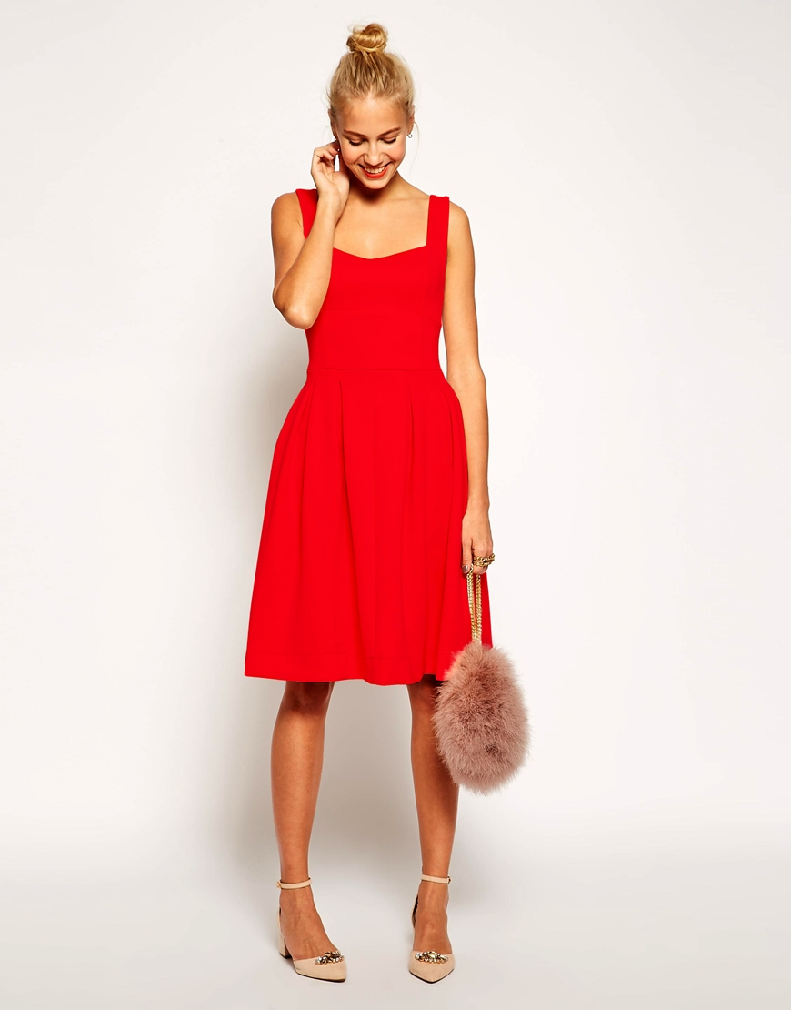 ASOS Debutante Midi Dress | Versatile Valentine's Day Dresses