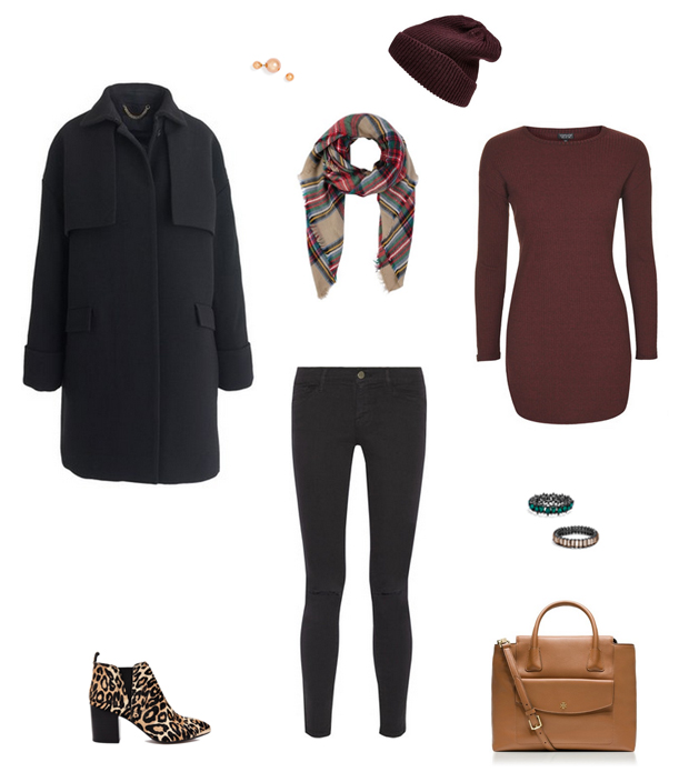 How She'd Wear It with Style and Cheek - Marsala Tops