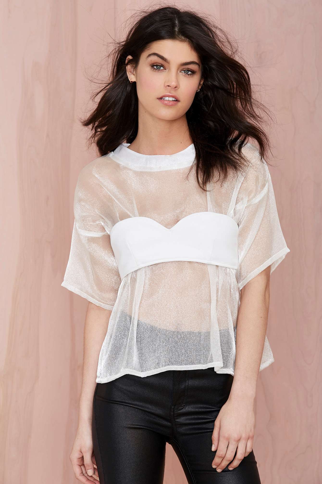 Maurie & Eve Perpetual Sheer Blouse from Nasty Gal