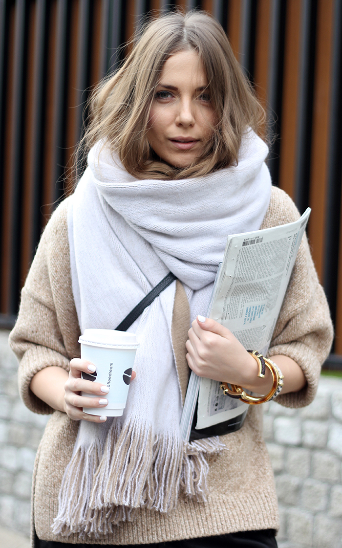 Workwear / Elle Serbia / January 1   Fashion and Style by Vanja Milicevic   Pinterest Picks - Winter Layers