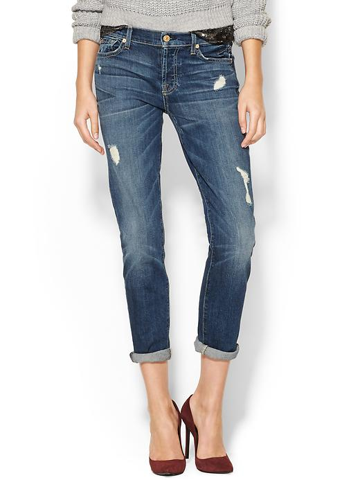7 FOR ALL MANKIND Josephina With Rolled Hem