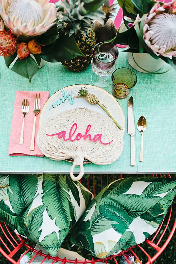 Aloha Bridal Shower Inspiration | 100 Layer Cake | Tropical Inspiration
