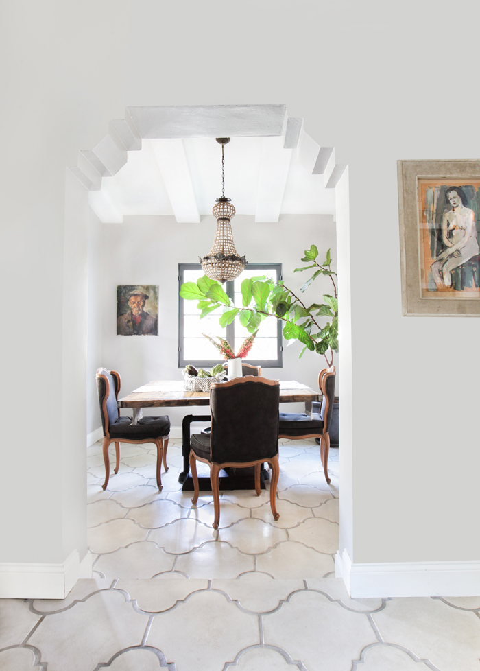 French Industrial Dining Nook | Style by Emily Henderson blog