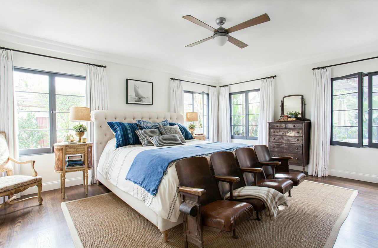 Old World Meets Modern; The Master Bedroom | Style by Emily Henderson blog