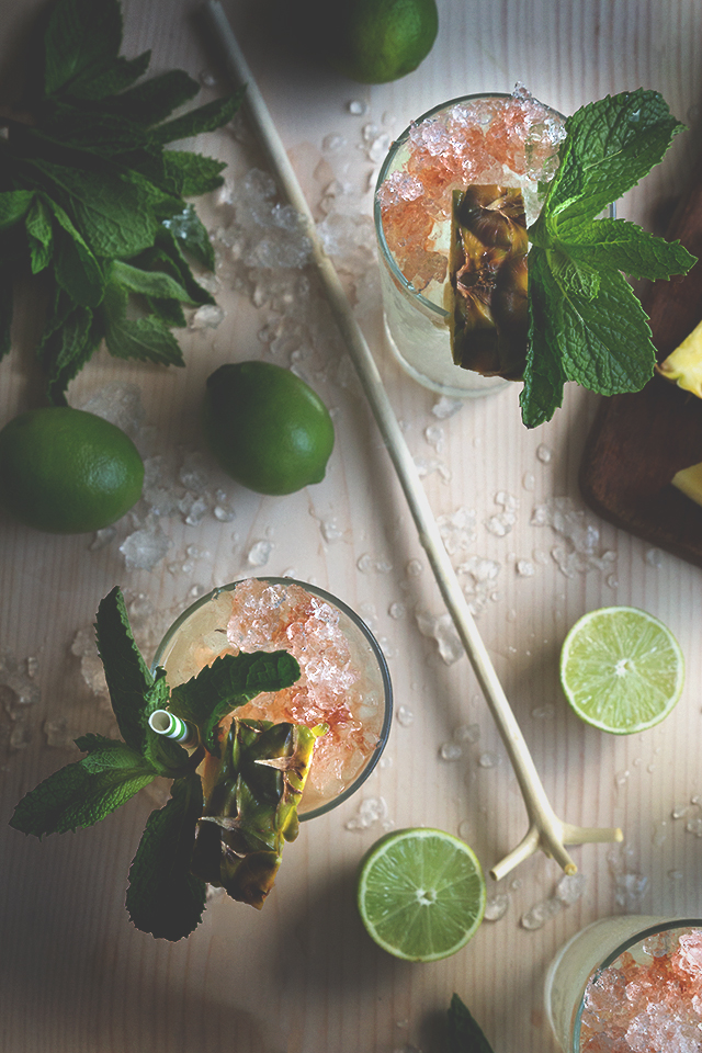 Sotol Swizzle | Honestly Yum | Tropical Inspiration