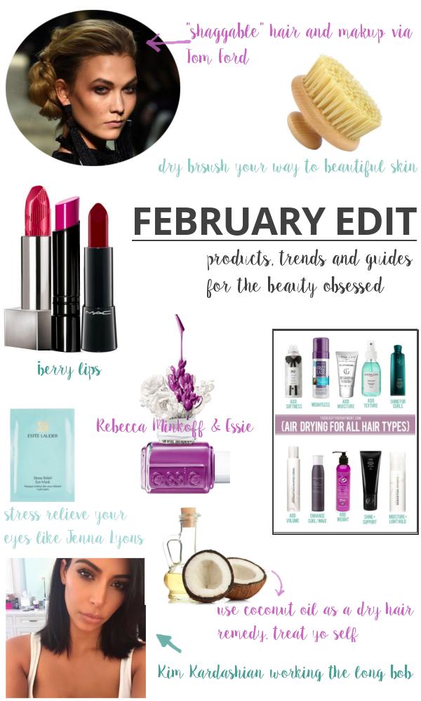 The Edit | Beauty Basics | February Beauty Edit