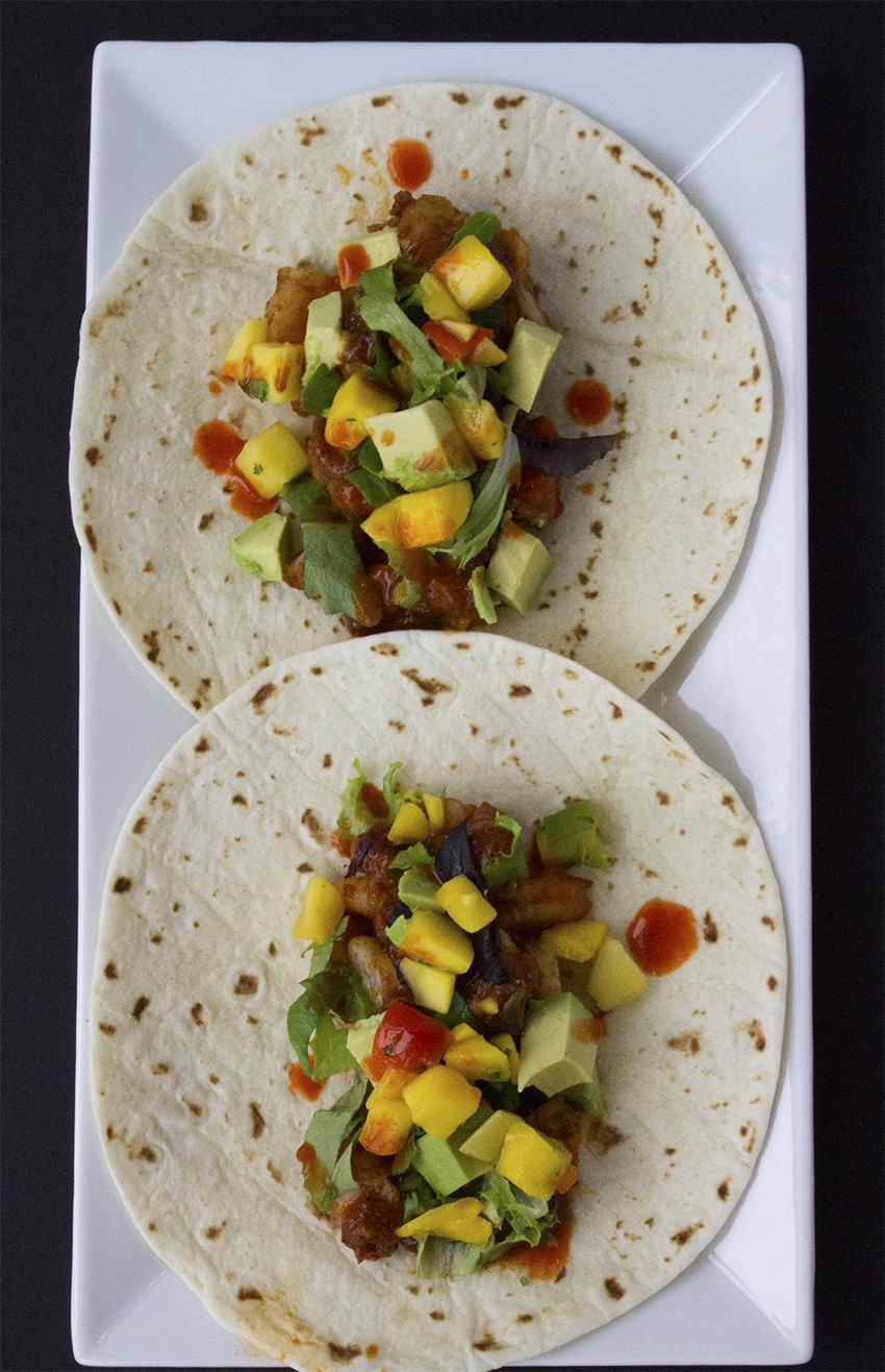 Chipotle shrimp tacos with mango salsa | Chipotle Shrimp Tacos with Mango Salsa recipe