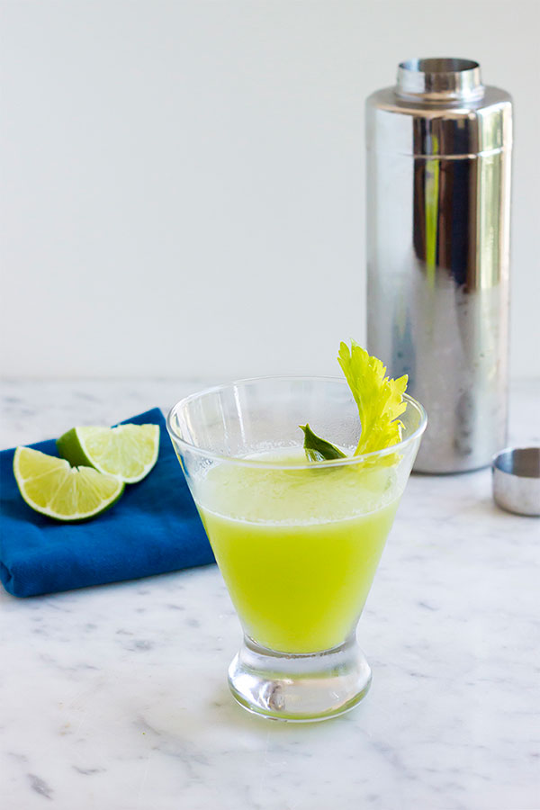 Green Gimlet | Kitchenette Blog | Six Green Cocktails for St. Patrick's Day