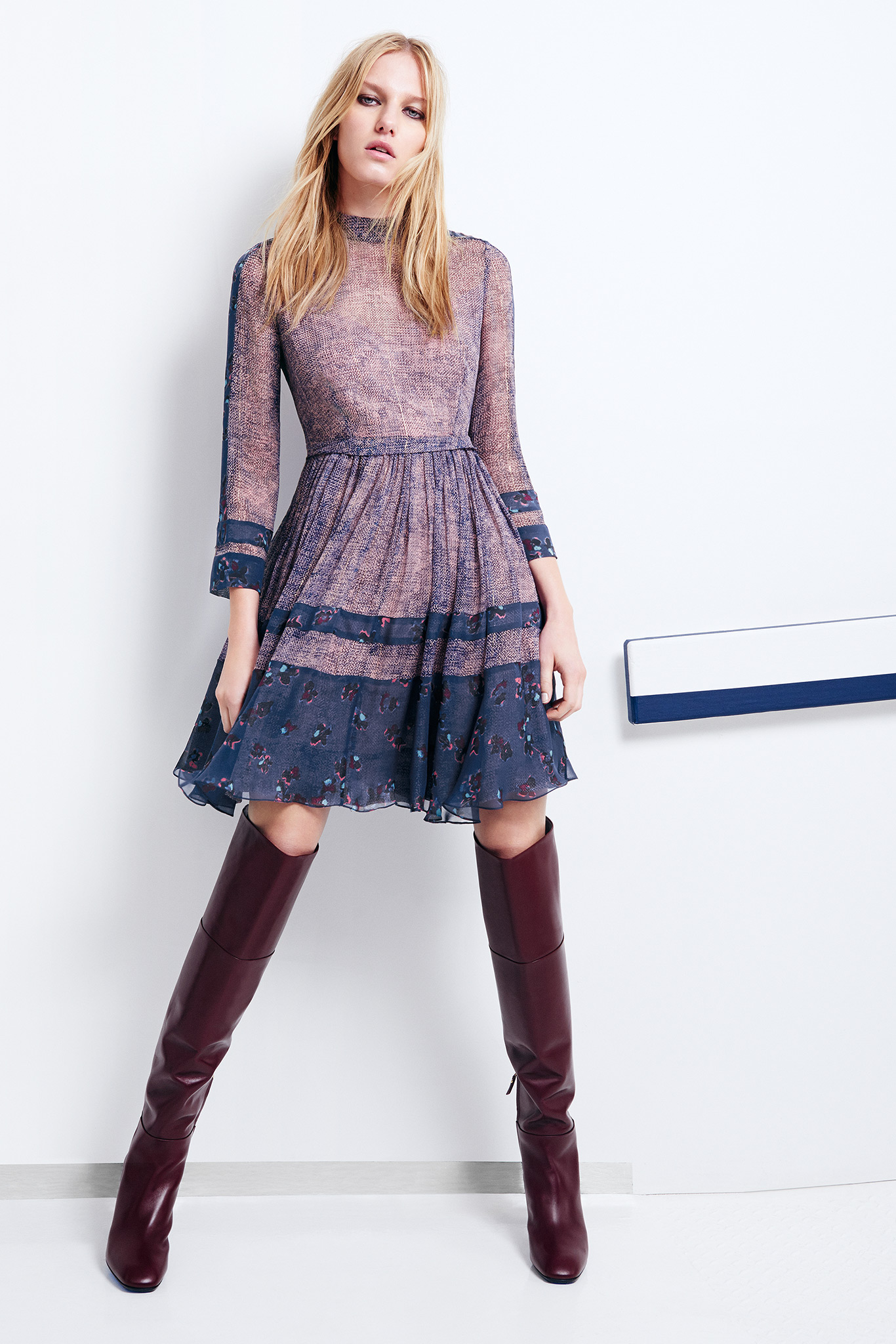 Rebecca Taylor Fall 2015 Ready-to-Wear Look 10 Photo: Courtesy of Rebecca Taylor   Style.com   Fall 2015 RTW Runway Looks