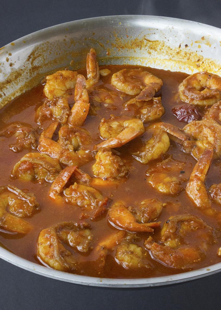 Shrimp in chipotle sauce | Chipotle Shrimp Tacos with Mango Salsa recipe