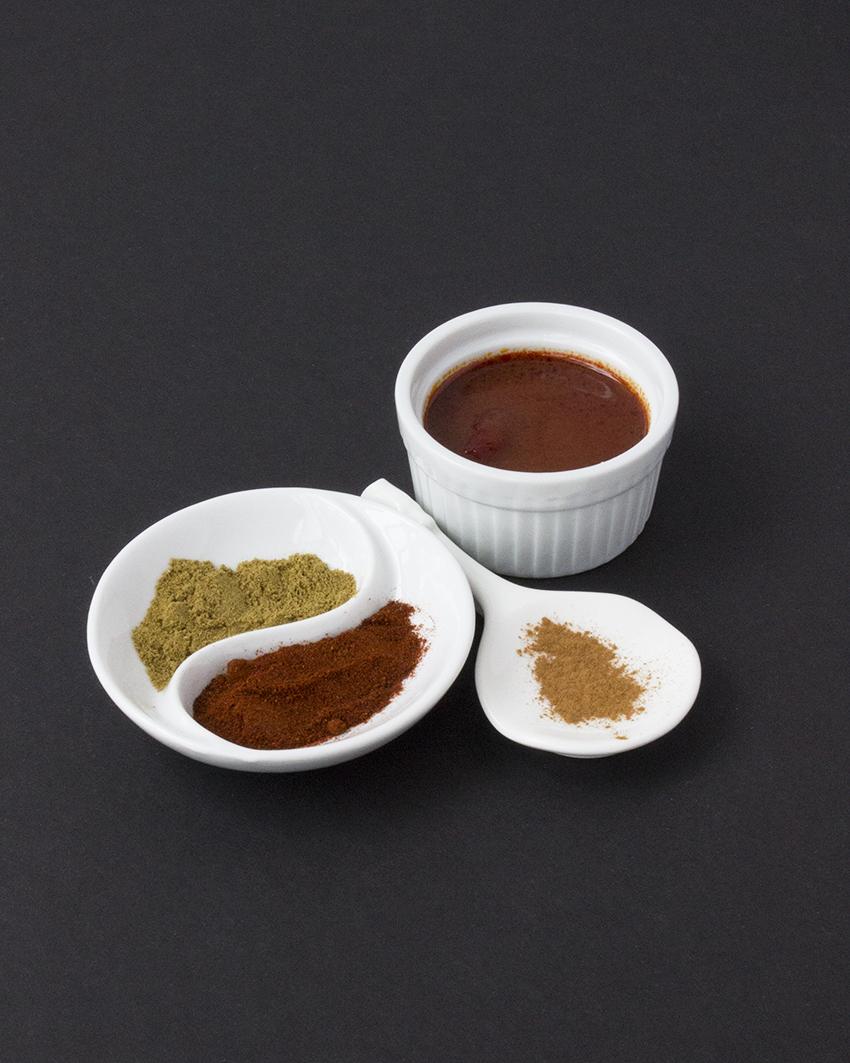 Spices for chipotle shrimp tacos | Chipotle Shrimp Tacos with Mango Salsa recipe