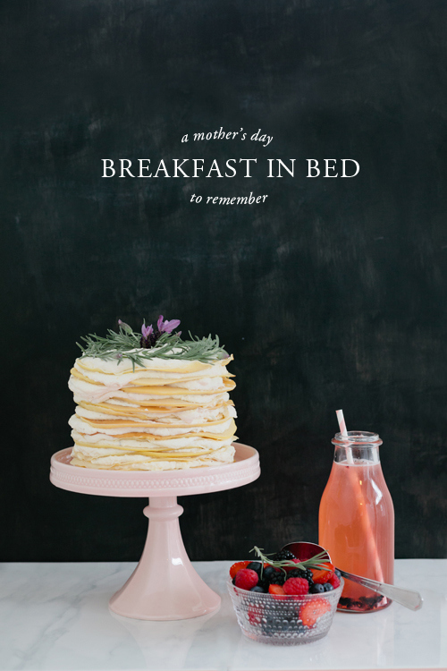 Breakfast in Bed Idea for Mother's Day | House That Lars Built - Mother's Day Ideas