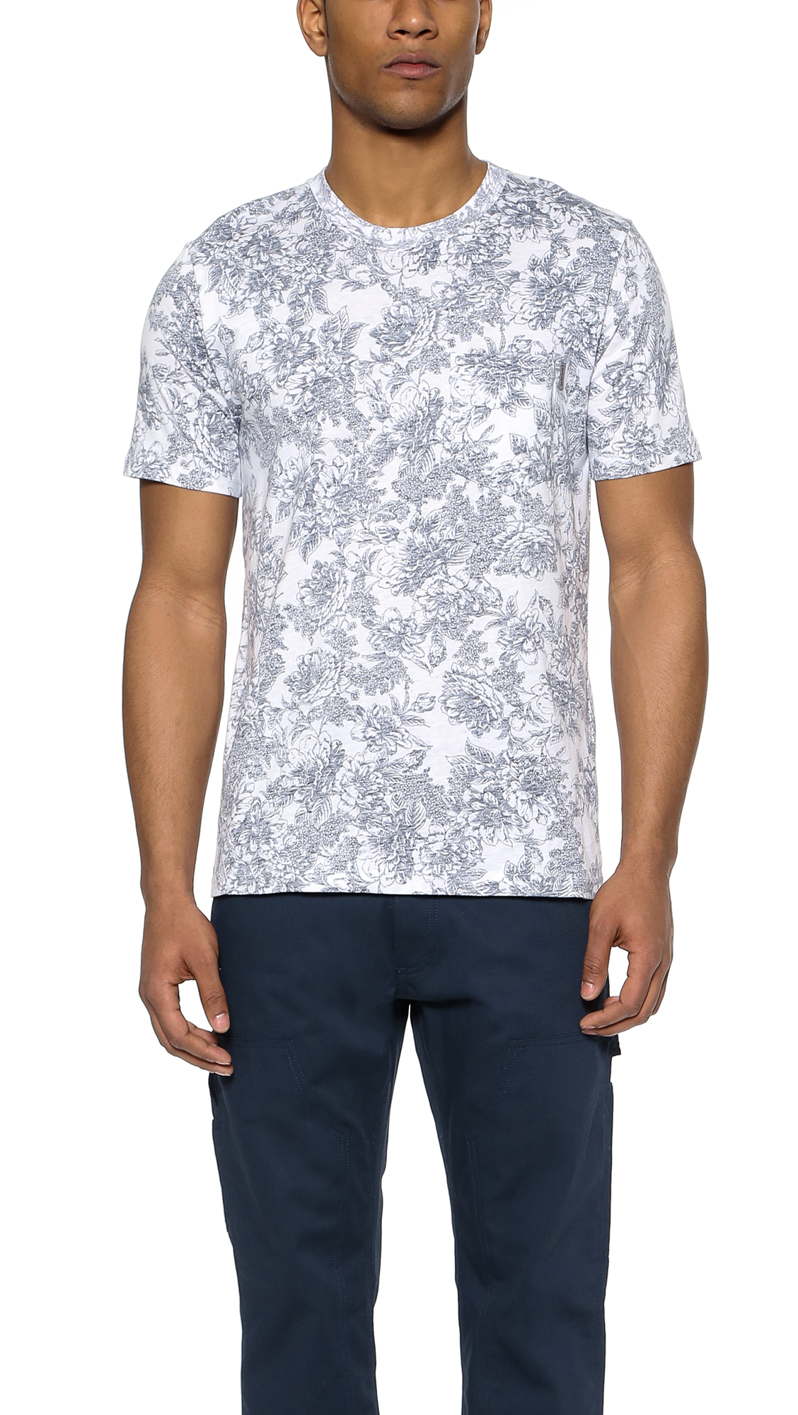 Carhartt WIP Wild Rose Pocket T-Shirt | Men's Prints
