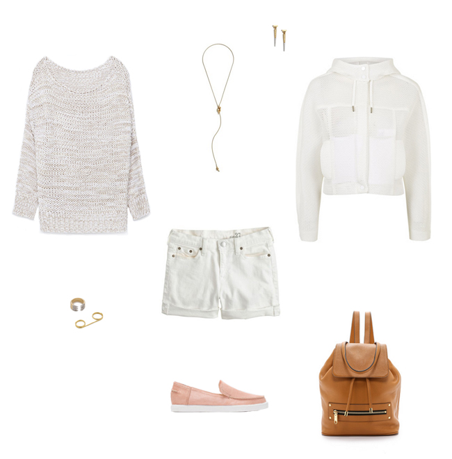 How She'd Wear It with Style and Cheek - White Denim