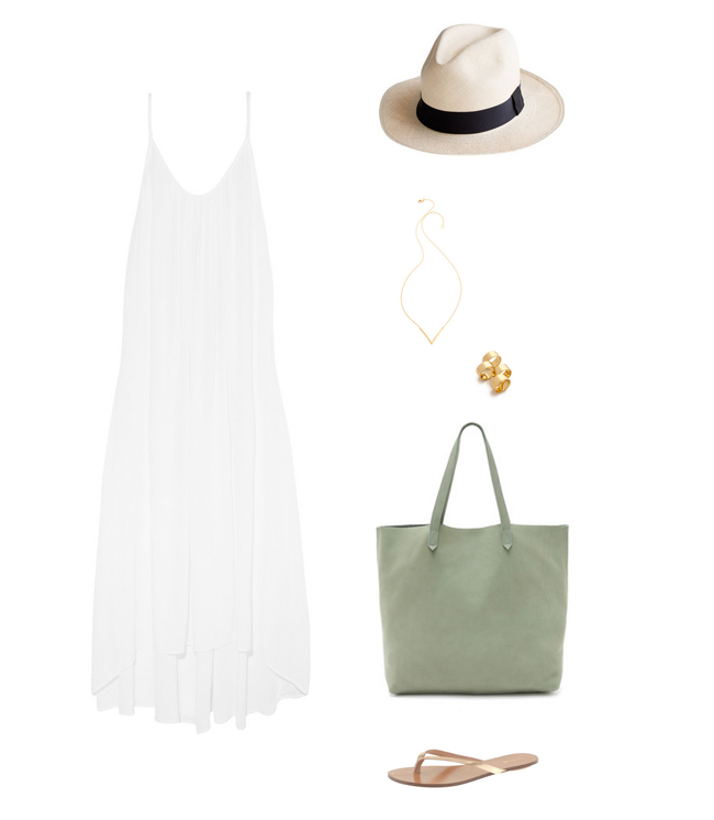 How She'd Wear It with Style and Cheek - White Maxi Dress - White Skirts and Dresses