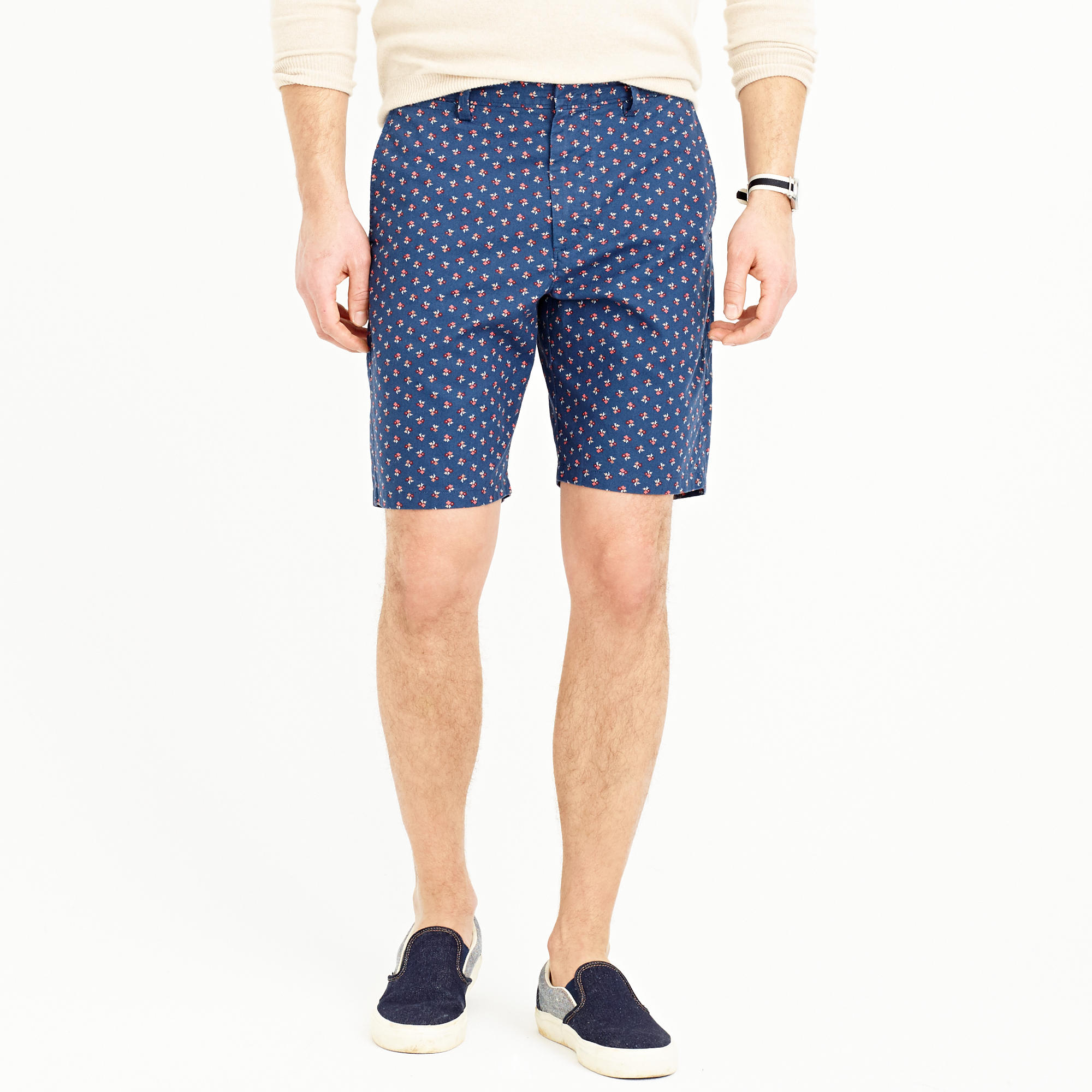 "J.Crew 9"" Club Short in Navy Floral 