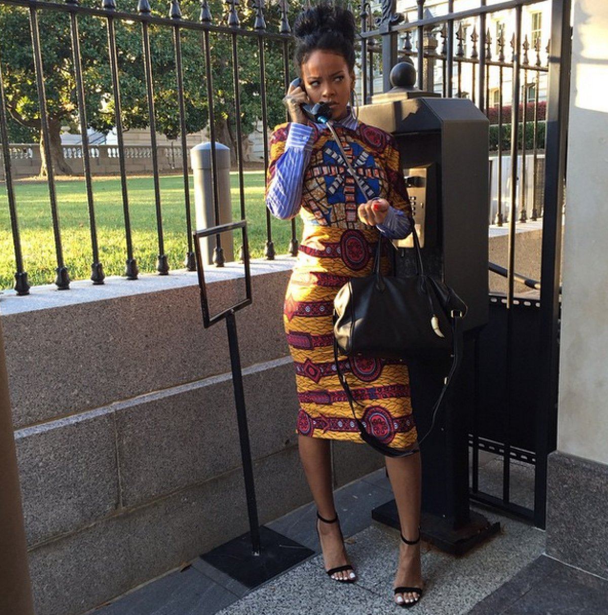 Rihanna Visited the White House, Played Scandal | Miss X Pose | Rihanna's Style